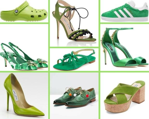 scarpe collage